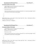 Amendments 11-27 Project worksheet - one page photo / info summary