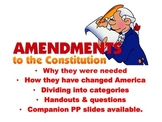 Amendments 11-27 Summarize, Categorize and questions