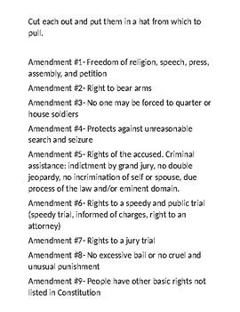 Amendments Blackout