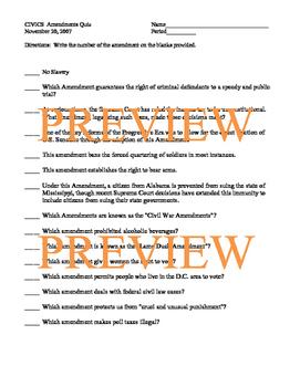 Amendments Booklet