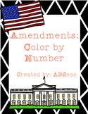 Amendments Color By Number