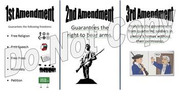 Amendments Posters