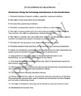 Amendments Quiz and Study Sheet