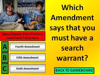 Amendments Review Game DIARY OF A WIMPY KID POWERPOINT