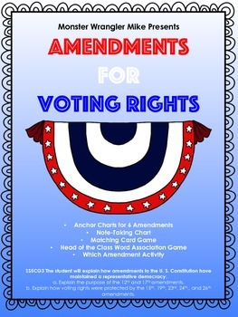 Amendments for Voting Rights