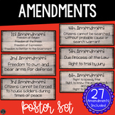 Amendments Poster Set