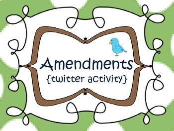Amendments {twitter activity} 5th