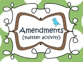Amendments {twitter activity} 5th