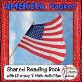 American Symbols Packet! Literacy & Math Activities