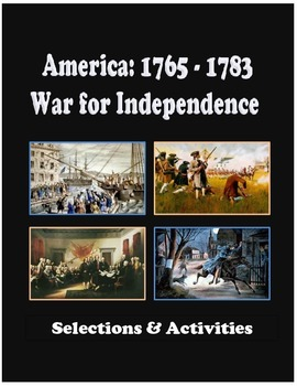 America: 1765 to 1783