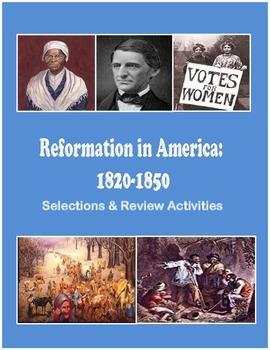 America: 1820-1850 – Reformation