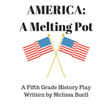 """America: A Melting Pot"" Fifth Grade History Play"