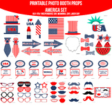 America American July 4th Independence Day Memorial Day Labor Day Printable Phot