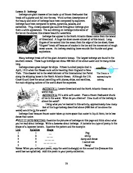 America: An Integrated Curriculum, Year 1, Part I, Weeks 5-6