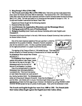 America: An Integrated Curriculum, Year 1, Part I, Weeks 7-8