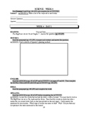 America: An Integrated Curriculum, Year 1, Part I, Weeks 3-4 Workbook