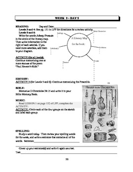 America: An Integrated Curriculum, Year 1, Part I, Weeks 9-11 Workbook