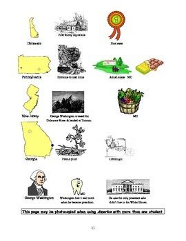 America: An Integrated Curriculum, Year 1, Part II, Appendix