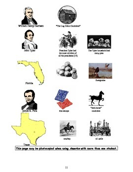 America: An Integrated Curriculum, Year 1, Part III, Appendix