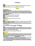 America: An Integrated Curriculum, Year 2, Part V, Answer Key