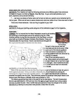 America: An Integrated Curriculum, Year 2, Part V, Weeks 9-11