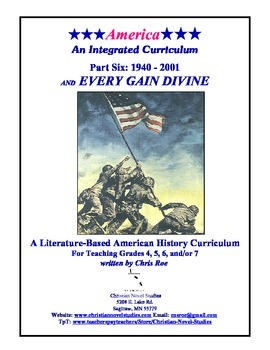 America: An Integrated Curriculum, Year 2, Part VI, Introduction