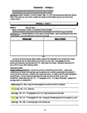 America: An Integrated Curriculum, Year 2, Part VI, Weeks 3-4 Workbook
