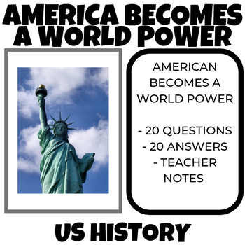 America Becomes a World Power Part I , II and III Video Guide