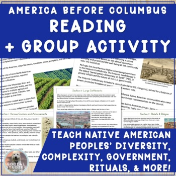 America Before Columbus: Group Readings and Class Jigsaw