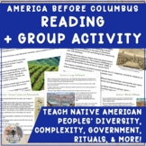 Native Americans & America Before Columbus: Group Readings