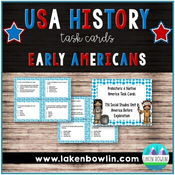 America Before Exploration Task Cards SCOOT