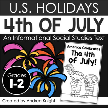 America Celebrates The 4th of July {A Holiday Reader for P