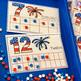 America Centers for Election, President's Day, and 4th of July Themes