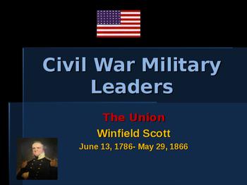American Civil War - Key Leaders - Union - Winfield Scott