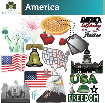 America Clip Art