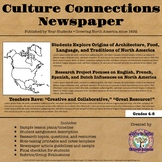 Culture Connections Newspaper (European Influence on American Culture)