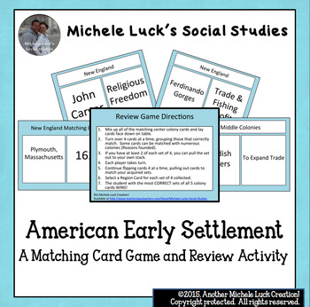 Early Settlements Worksheets Teaching Resources TpT