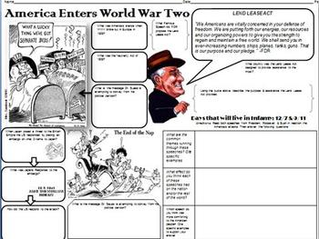 America Enters WWII PowerPoint & More
