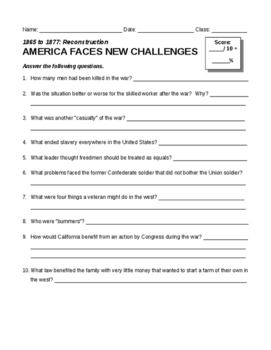 America Faces New Challenges