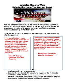 America Goes to War: Debate the War on Terror