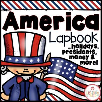 America Lapbook: Holidays, Presidents and Money