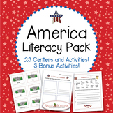 America Literacy for Kindergarten and First Grade