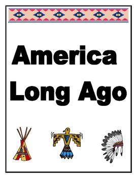 America Long Ago Unit Packet