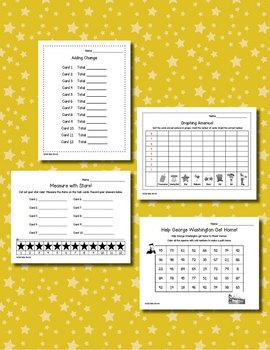 America Math  for Kindergarten and First Grade
