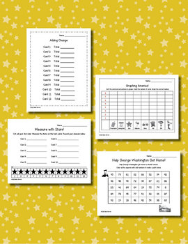 America Math  for Kindergarten and First Grade