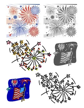 America & Memorial Day Clipart