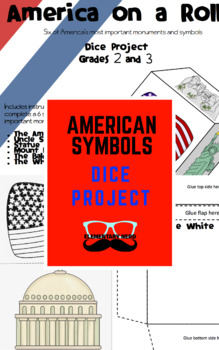 America Monuments and Symbols Dice Project