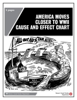 America Moves Closer To WWII Cause and Effect Chart