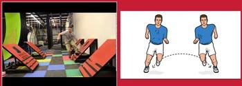 America Ninja Parkour Workout