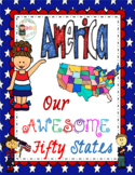 America Our Awesome Fifty States